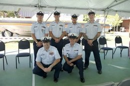 Coast Guard awarded after saving boaters