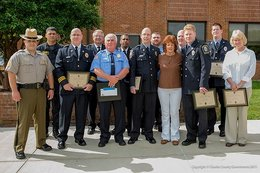Commissioners present life safety award to local heroes