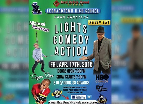 Lights, Comedy, Action, Help the LHS band get the last laugh