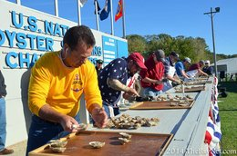 Crowds flock to 48th Annual Oyster Festival