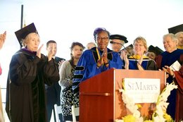 St. Mary's College of Maryland installs seventh president
