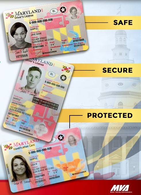 Maryland Begins Issuing New Secure Driver S Licenses