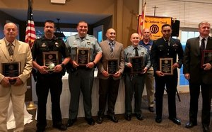 St. Mary's Optimists honor local law enforcement