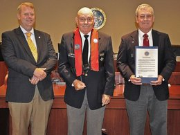 Commissioners Declare National Safe Boating Week