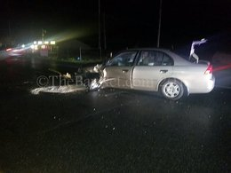 Motor vehicle accident reported in Mechanicsville Md.