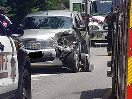Motor vehicle accident reported in Charlotte Hall Md