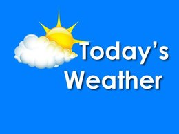 SoMD Weather and Tides for Thursday, May 18, 2017