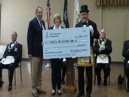 Veterans Home Receives Donation of $6,000