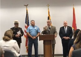 Murder indictment press conference: VIDEO