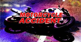 Motorcycle crash sends one to trauma center