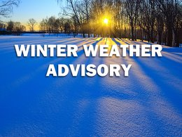 Winter Weather Advisory Issued for Charles County