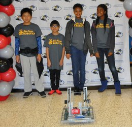 VEX Robotics teams are Starstruck at competition