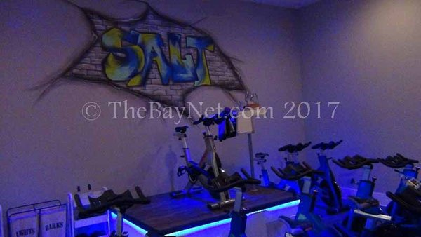 Salt Cycle Studio offers a unique and exhilarating cycling experience