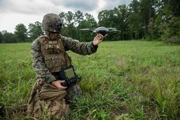 Marine Corps infantry receive small quadcopters