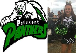 Calvert County cheerleader picked for parade performance