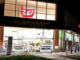 Burglars steal van, attempt to steal ATM from La Plata store