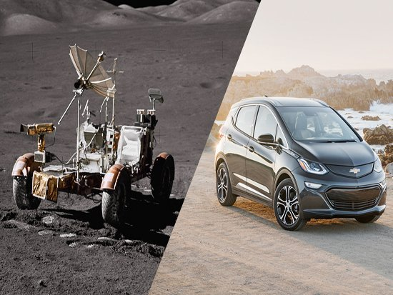 Chevrolet Brings All-Electric Technology from the Moon to Earth