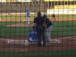 Blue Crabs sweep doubleheader from Bluefish