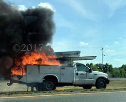 Crews dispatched to vehicle fire