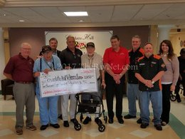 Bayside Auto Group's donation to Charlotte Hall Veterans Home