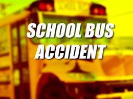 Accident involving school bus has been reported