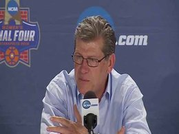 Geno Auriemma on body language and the type of players he recruits-Video