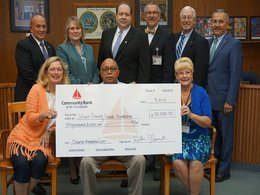 CCPS Receives Inaugural Donation to Calvert County School Foundation
