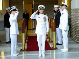 McDowell assumes command of Air Combat Electronics program office