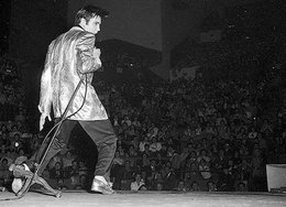 Elvis left the building 40 years ago