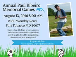 It's coming up! Paul Ribeiro Memorial Games benefit special needs