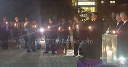 Candlelight vigil honors victims of domestic violence (VIDEO)