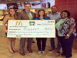 Sagepoint Receives $1,256.43 Donation