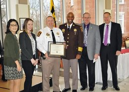 CCSO Commanders Receive Awards for Exemplary Instruction at MPCTC