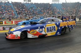 Capps Wins All-Mopar Funny Car Final at Route 66 Nationals