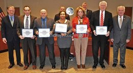Volunteers recognized by Commissioners