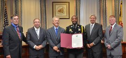 Diving deputy recognized by commissioners