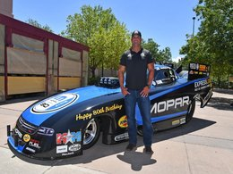 Hagan to Debut Mopar 80th Anniversary Funny Car Graphics at Mopar Mile-High NHRA Nationals