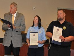 Commissioners Honor EMS Professionals and Volunteers