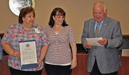 Commissioners Recognize Work of Nursing Homes