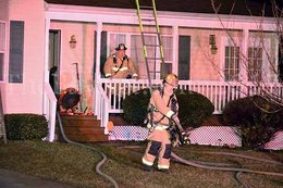House fire in Great Mills with one trapped