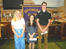 Local clubs hold annual scholarship presentation