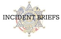 St. Mary's County Sheriff's Office indicent briefs