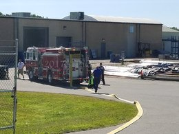 Machine causes fire at Hollywood metal facility