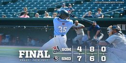 Blue Crabs late rally secures win
