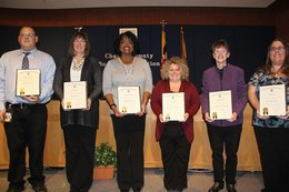 Board honors employees for commitment to student success