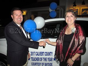 Calvert County 2017 Teacher of the Year