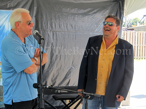 Doug Hill and John Luskey at Taste of Beaches