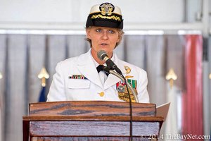 Pax River command changes to first woman CO