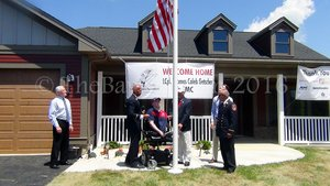 Usmc Lcpl Caleb Getscher, Family Given Keys To 'Smart' Home