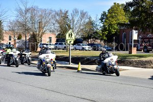 Nolan Scully funeral procession